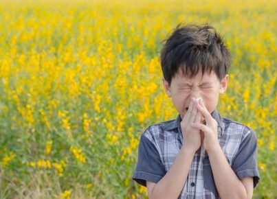 3 Top Tips for Mums of Kids With Autumn Allergies