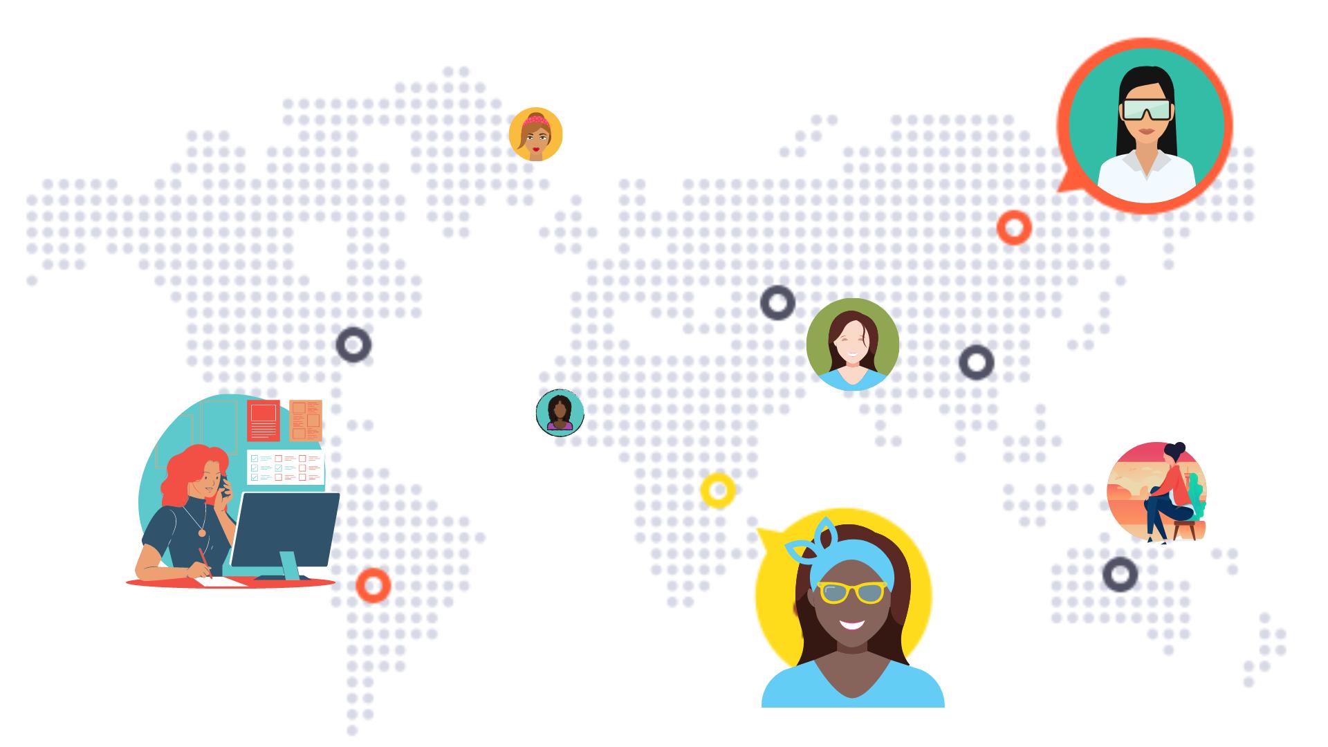 Chat to Stem Women Around The World